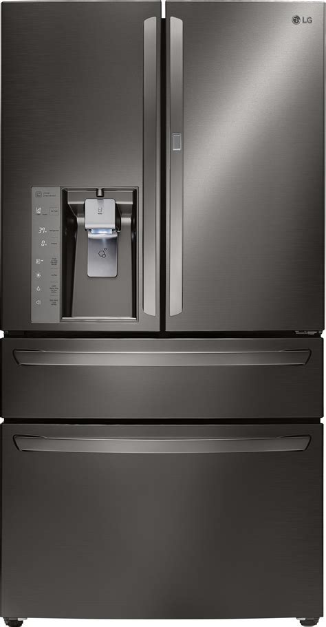 LG LMXS30776D 36 Inch French Door Refrigerator with 29.7