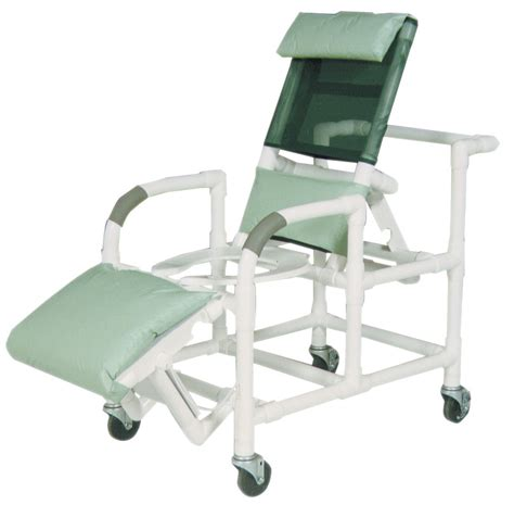 reclining pvc shower chairs chairs pvcm193 medline