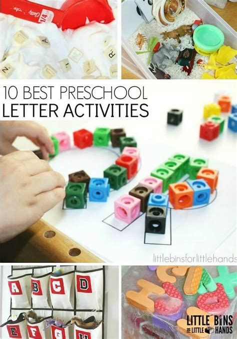 letter activities for early learning preschool literacy 297 | 10 Best Preschool Letter Activities for Kids