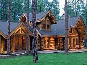 Log Cabin Home Log Homes Floor Plans Cabin  Modern Log