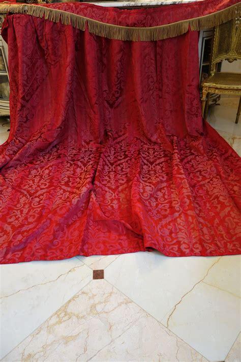 brocade drapes gorgeous antique thick silk woven brocade drape curtain
