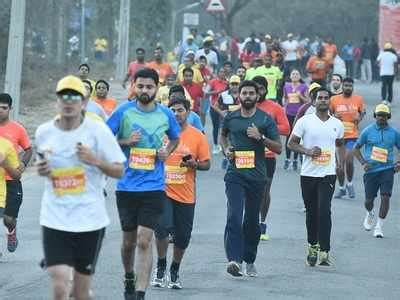 Boat Club Pune Hdfc Bank Ifsc Code by Of Hyderabad City Folk Sweat It Out For Run In