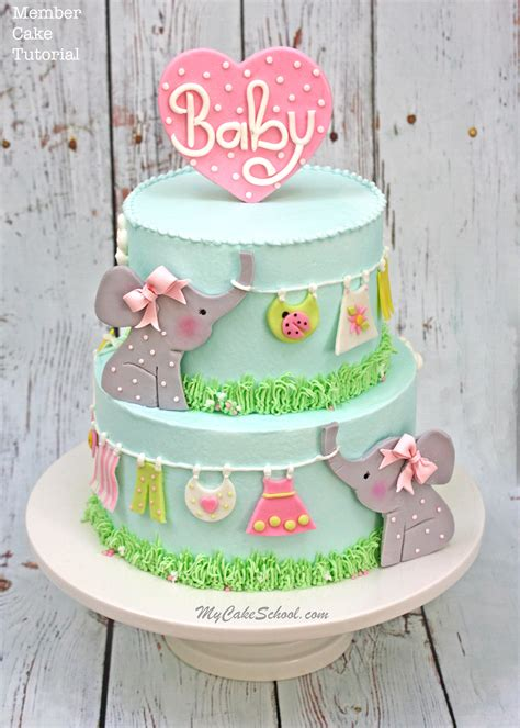 Roundup Of The Cutest Baby Shower Cakes, Tutorials, And