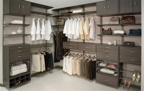 freedomrail driftwood live walk in closet from organized