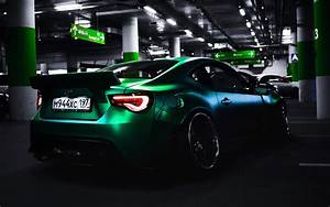 Wallpaper Toyota, Sports car, Custom tuning, 4K