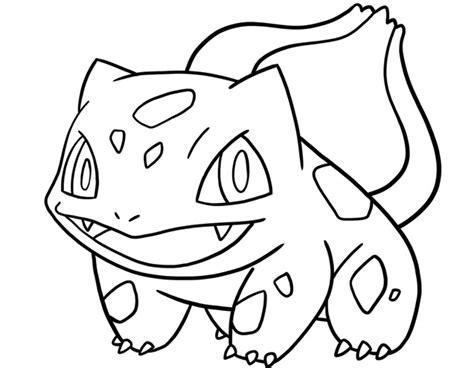 immagini di pokémon da disegnare bulbasaur pok 233 mon da colorare