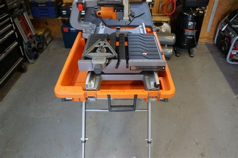 Ridgid Tile Saw Wts2000l by Ridgid 8 Quot Tile Saw Review Model R4040s Tools In