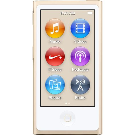 ipod nano generationen apple 16gb ipod nano gold 7th generation 2015 model