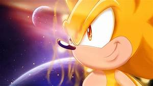 Super Sonic - wallpaper by selinmarsou on DeviantArt