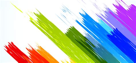 vector color brushes poster banner color background