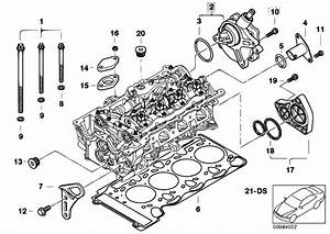 Original Parts For E46 316ti N42 Compact    Engine   Cylinder Head Attached Parts