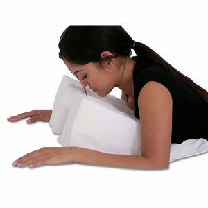 Stomach sleeper face down pillow two sizes for Best down pillows for stomach sleepers