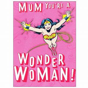 Wonder Woman Mo... Australian Mom Quotes