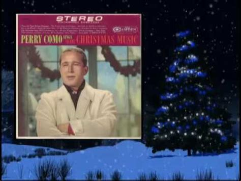 perry como oh holy night perry como silent night k pop lyrics song