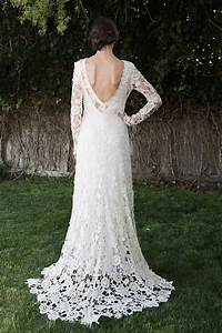 15 wedding dresses you wont believe are crocheted brit co With crocheted wedding dress