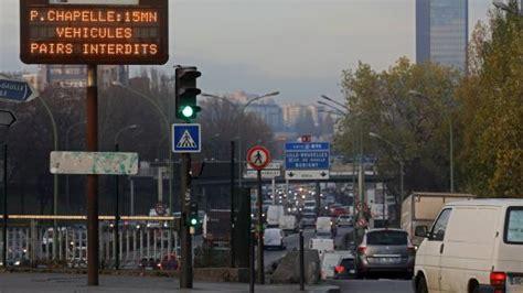 circulation alternee 7 decembre pollution retour de la circulation altern 233 e 224 ce vendredi