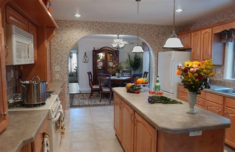 drop lights for kitchen island hearth wall galley pleasant valley homes