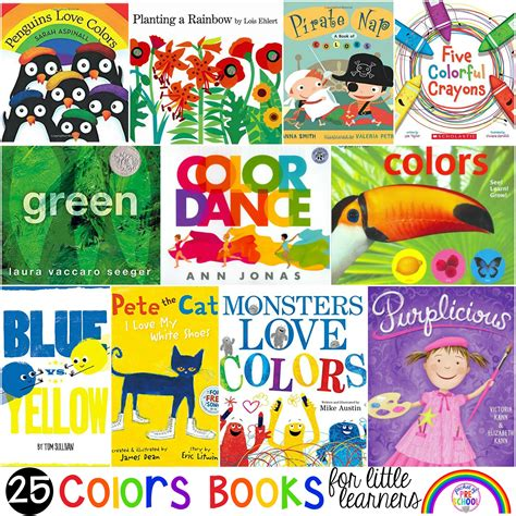 colors books   learners pocket  preschool