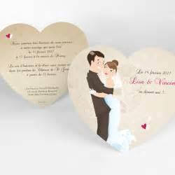 faire part mariage simple faire part mariage youpi sans enfant mariage coeur simple