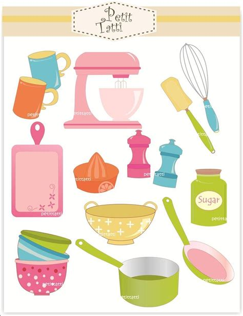 cooking utensils clipart cooking clip baking clip digital clip
