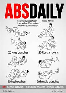 Abs Daily Workout | Make good choices | Pinterest | Twists ...