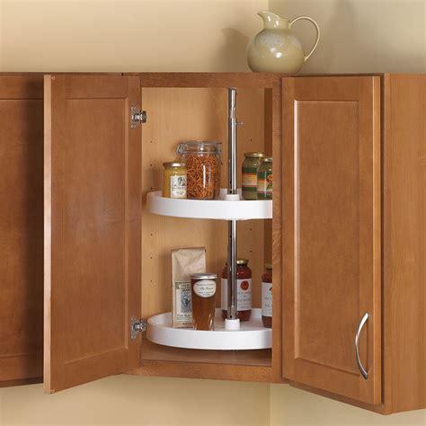 lazy susan for kitchen corner cabinet shop knape vogt 2 tier plastic full circle cabinet lazy