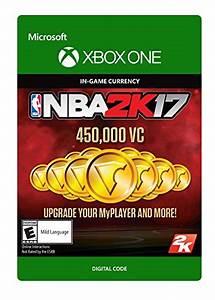 NBA 2K17 450000 VC Xbox One Digital Code