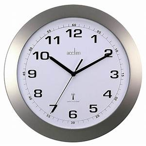 Acctim Cadiz Office Kitchen Radio Controlled Wall Clock ...