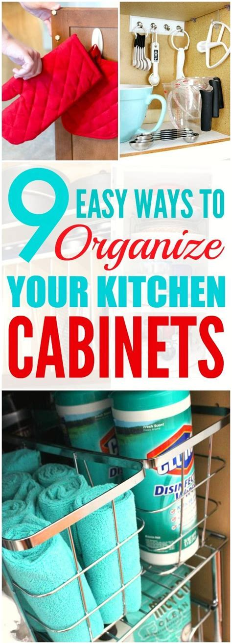 ways to organize kitchen these 9 genius ways to organize your kitchen cabinets are 7023