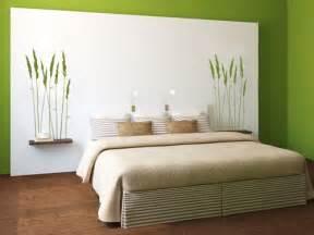 wohnung einrichten tapeten bett deko schlafzmer inspiration wohnküche und wohnzimer