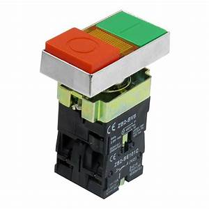 On Off Start Stop Push Button W Ac 220v Light Indicator Momentary Switch Zb2