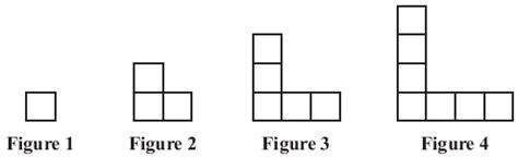Algebra Tile Patterns Worksheet by 4th Grade Math Homework Helper
