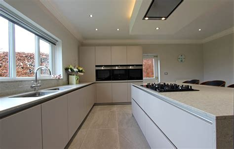 Schuller Kitchen installation in Eccleston, rural