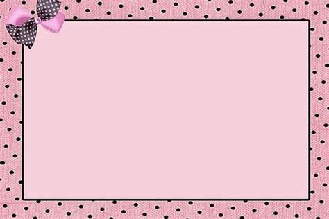 con color rosa invitaciones marcos o etiquetas para imprimir gratis oh my 15 a 241 os