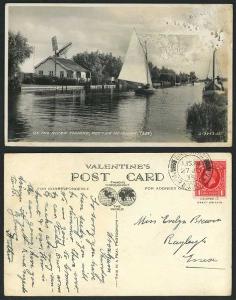 Boat Sales Potter Heigham by Potter Heigham Sailing Boats On The River Thurne 1935