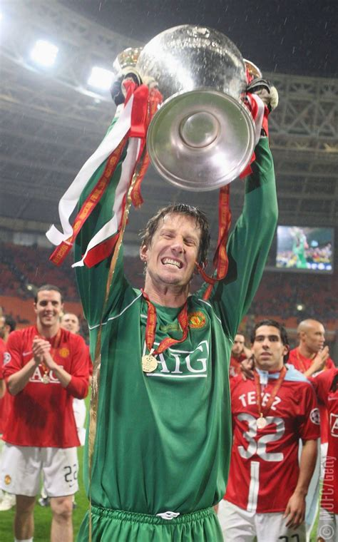 years  today edwin van der sar joined manchester