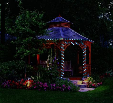 how to hang a battery operated gazebo fan with lights gazebo
