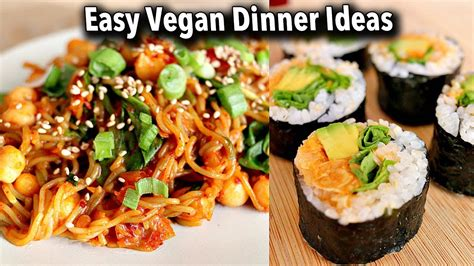 budget friendly easy vegan dinner ideas recipes june