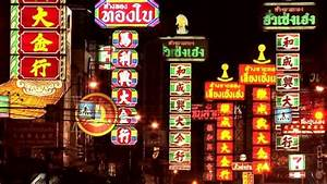 Publicidad Luminosa Chinatown Bangkok Tailandia