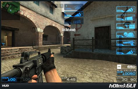 hlmguiv counter strike source gui mods