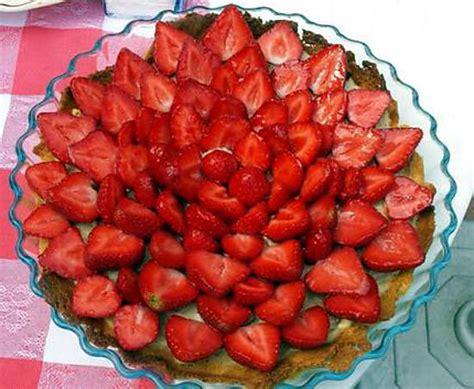 recette de tarte aux fraises sur p 226 te 224 sabl 233 breton comme mercotte