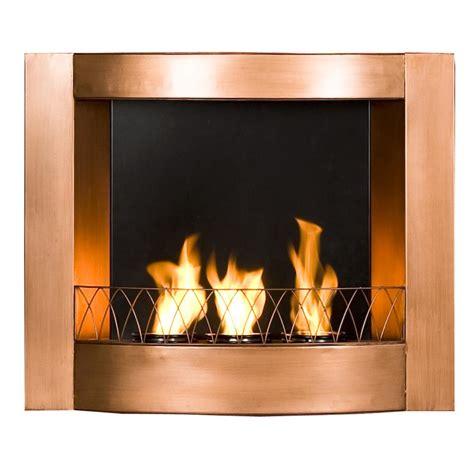 amazoncom sei copper wall mountable gel fuel fireplace