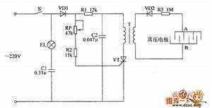 Electronic Pests Killing Lamp Circuit Diagram 6