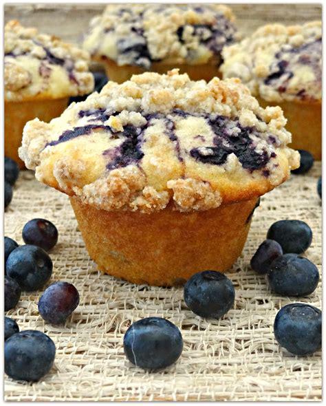 Swirl Blueberry Muffins