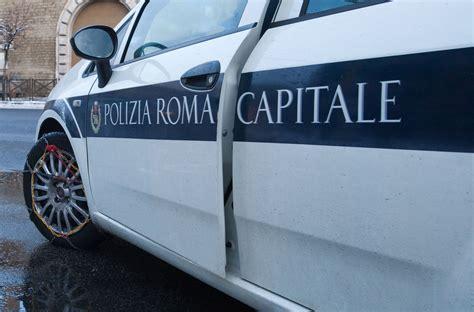 polizia stradale napoli ufficio verbali roma vigili urbani tonano un auto e falsificano i