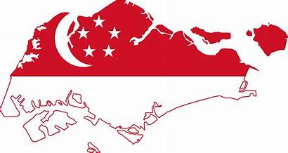 Singapore Map Flag Visit Flags