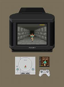 PlayStation Setup Pixel Artist Mazeon Source
