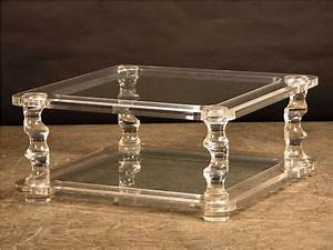 Furniture fantastic acrylic coffee table ikea ideas for Clear lucite acrylic coffee table