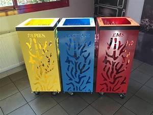 Poubelle De Tri Selectif : poubelles design tri selectif ami ~ Farleysfitness.com Idées de Décoration