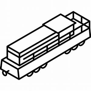 Freight Train - Free transport icons